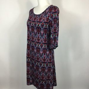 Market & Spruce Dresses - Market & Spruce Multicolored Shift Dress Small
